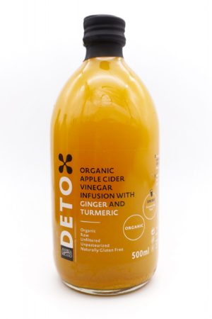 ANDERA MILANO DETOX Organic Apple Cider Vinegar With 'Mother' Infusion with Ginger and Turmeric