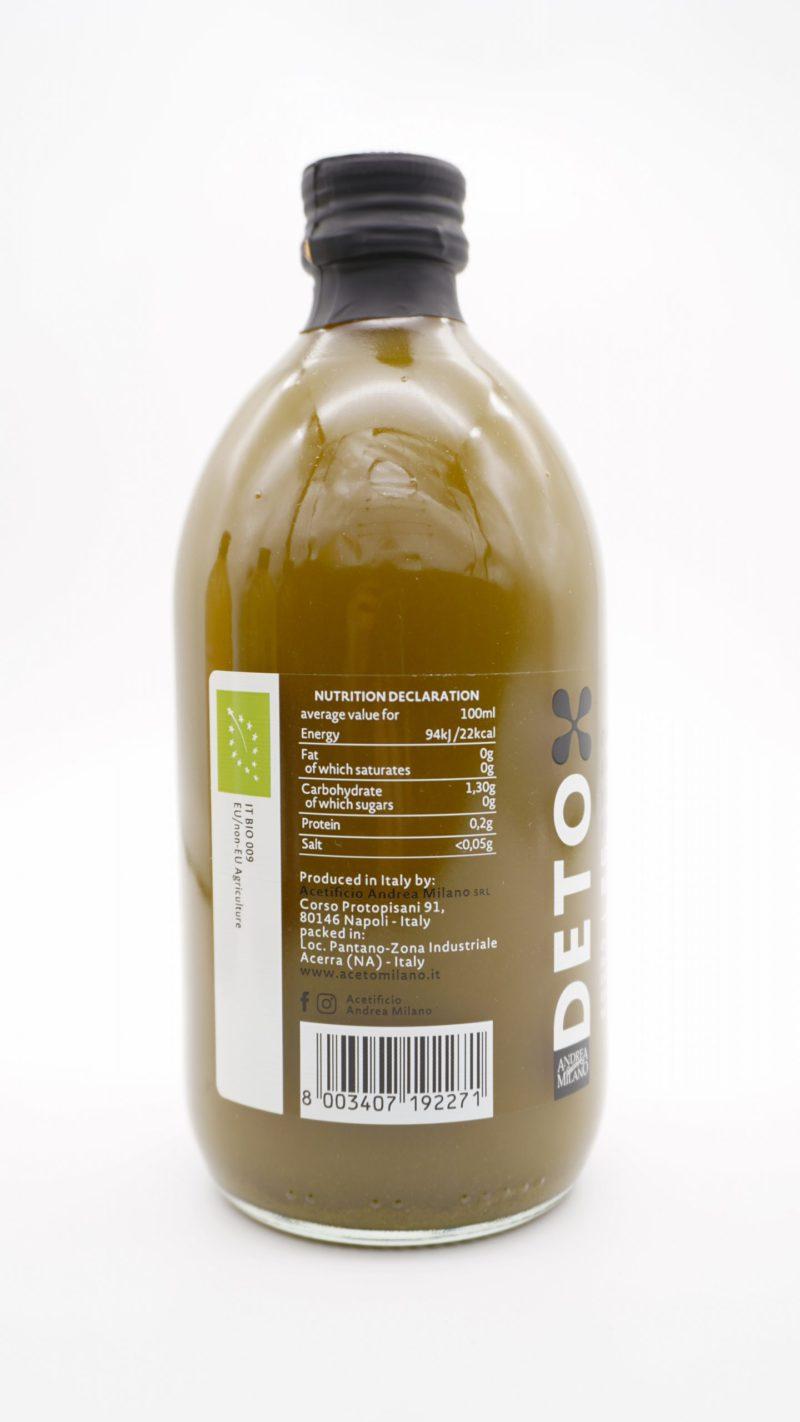 DETOX 有機無過濾帶mother 抹茶檸檬蘋果醋