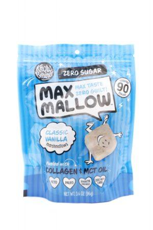Know Brainer Max Mallow Classic Vanilla Flavor 96g