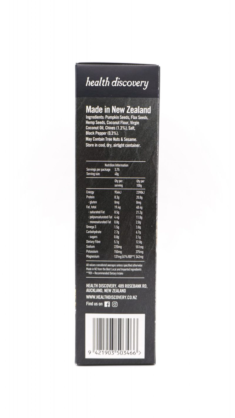 Nutrient Crackers 生酮手工種籽餅 150g