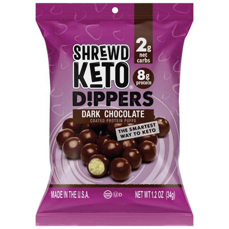 SHREWD FOOD Dark Chocolate Keto Dippers