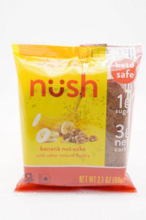 Nush 生酮香蕉合桃蛋糕 60g