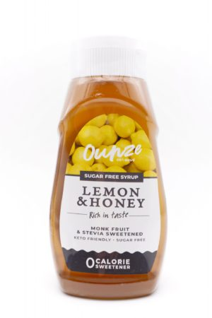 Ounze keto syrup Lemon & Honey 320ml