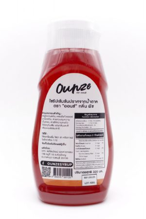 Ounze keto syrup Peach flavor 320ml