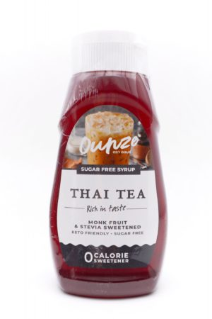 Ounze keto syrup Thai Tea flavor 320ml