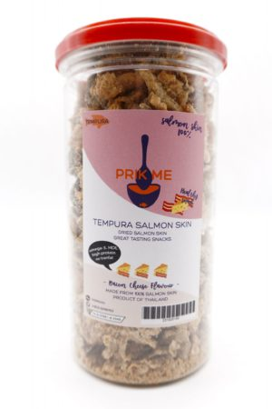 PRIK ME Thailand LowCarbs Crispy Salmon Skin Cheese bacon 95g