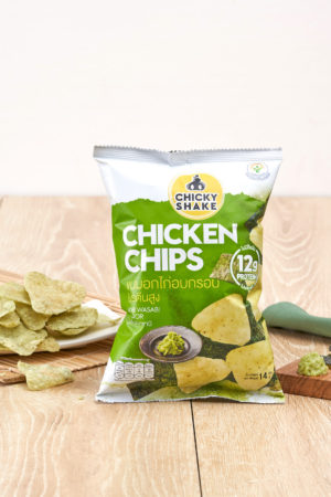 Chicky Shake 雞胸肉脆片 紫菜芥辣味 14g
