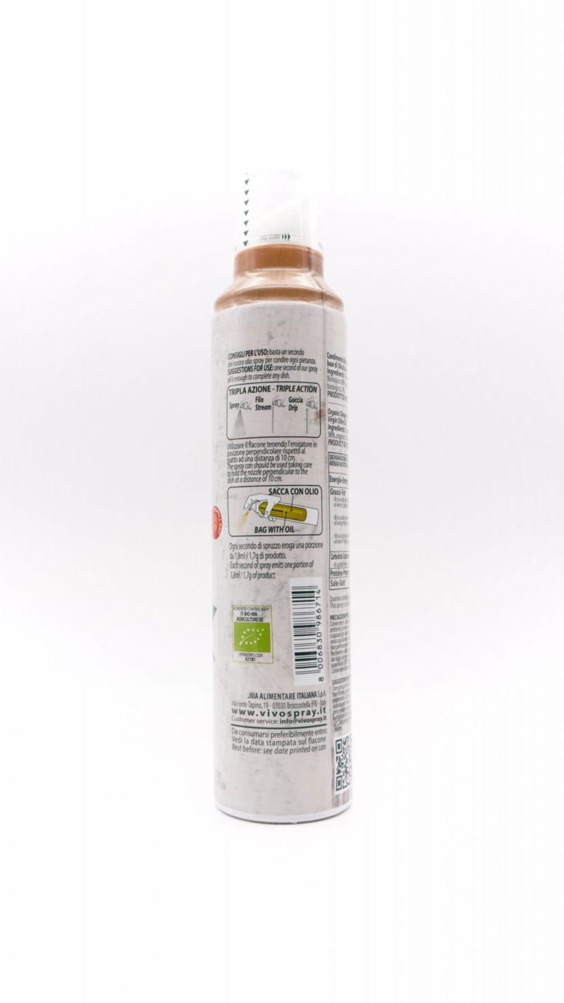 Vivo Spray 100% Organic Ginger Flavoured Extra Virgin Olive Oil