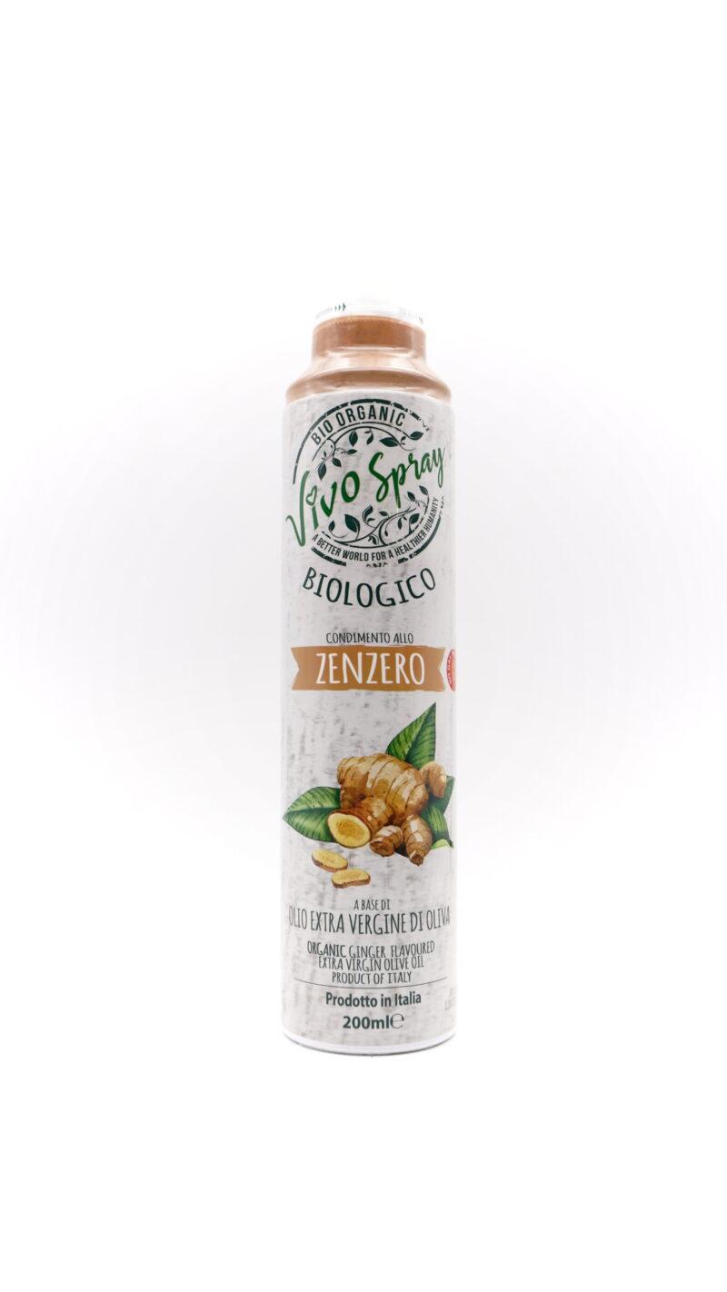Vivo Spray 100% 有機初榨冷壓橄欖油噴霧 200ml 薑味