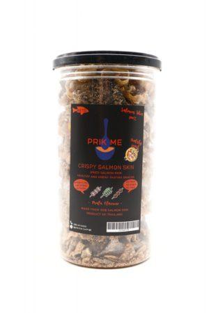 PRIK ME Thailand Keto Crispy Salmon Skin, Mala Flavor 95g