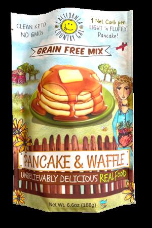 California Country Gal Organic Keto Pancake and Waffle Mix 188g