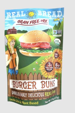 California Country Gal Organic Mix Burger Bun 275g