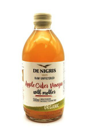 "De Nigris Organic unfiltered with ""Mother"" Apple Cider Vinegar"